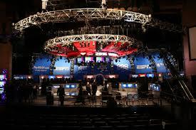 world scene of poker event